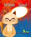White Sand Cat Litter